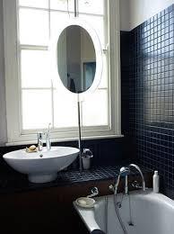 Bathroom Black And White Bathroom by To Da Loos January 2012