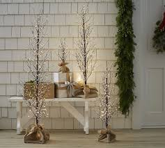 faux lit berry tree pottery barn