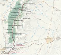 Show Me A Map Of The Usa by Maps Shenandoah National Park U S National Park Service