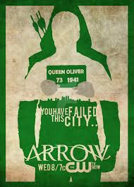 green arrow minimalist poster novice complete by