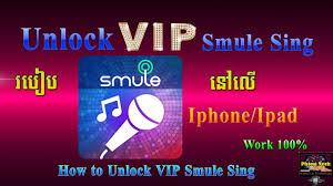 រប ប unlock vip smule sing ន ល iphone ipad youtube