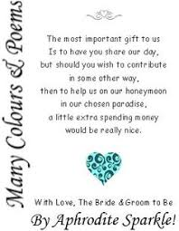 honeymoon fund bridal shower wishing well poems wishing well poems poem