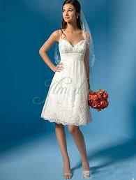Knee Length Wedding Dresses Sleeveless Knee Length Short Tea Length Wedding Dresses Starrydress