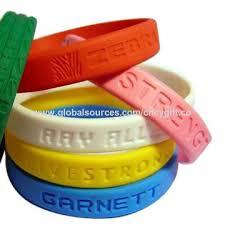 rubber bracelet made images China rubber bracelets from quanzhou manufacturer quanzhou jpg