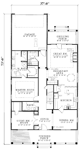 narrow cottage plans floor plan small house plans narrow lot for a floor plan with