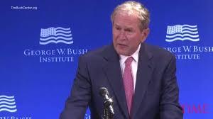 read george w bush u0027s speech on how bigotry is emboldened time com