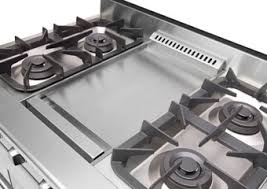 Cooktop With Griddle And Grill Flat Top Grill For Stove Garland 6 Burner Electric Range W Flat