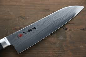 kanetsune vg10 33 layer damascus santoku japanese chef knife 180mm