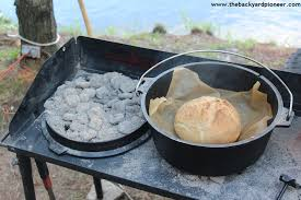 dutch oven cooking table c chef 38 dutch oven c table a gear review