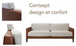 canapé confort le canapé centsept design et confort canapés duvivier