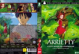 arrietty french dvd cover borrowers