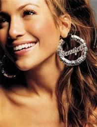 Name Hoop Earrings Sterling Silver Bamboo Name Hoop Earrings Be Monogrammed
