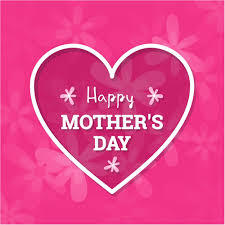 happy mom day heart design background vector 500 best mothers