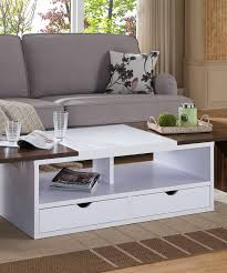 loving this dark walnut expandable coffee table on zulily