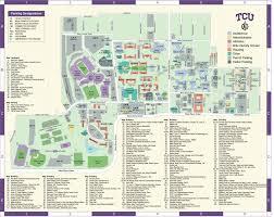 tcu parking map parking map tcu jpg