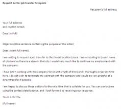 Transfer Request Letter In Bank request letter transfer template request letter sle