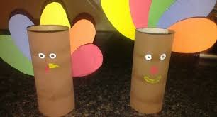 toilet paper roll turkey craft idea