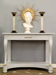 Painted Console Table Antique Empire Style Painted Console Table Jean Marc Fray