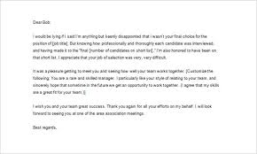 thank you letter after job interview u2013 10 free sample example