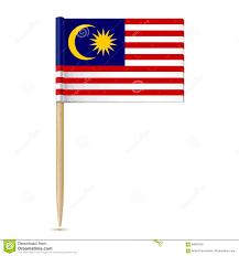 Malasia Flag Flag Malaysia Toothpick White Background Eps 89093305 Jpg