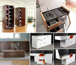 whole collection of mini mobile modular and motorized kitchens