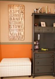 design reveal hunting themed room project nursery