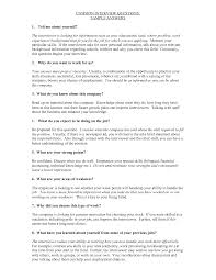 resume questions and answers free resume example and writing