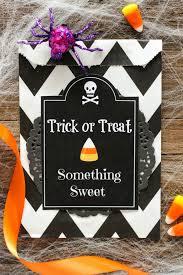 halloween treat bag printable