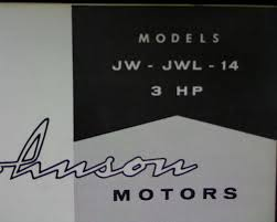 1958 johnson 3 hp jw jwl 14 sea horse outboard motor spare parts