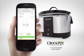 wifi cooker crock pot 6 quart stainless steel smart slow cooker walmart com