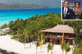 president obama is on richard branson u0027s island people com