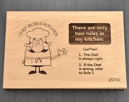 Father S Day Food Gifts Personalized Chef Cutting Board Birthday Gift Custom Chopping