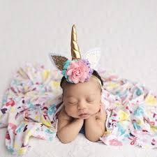 headband newborn unicorn headband in rainbow unicorn baby headbands hair clip