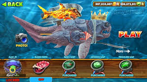 download game hungry shark evolution mod apk versi terbaru hungry shark evolution mod apk v5 8 0 unlimited coins gems unlocked
