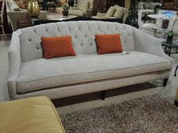 Traditional Tufted Sofa by Seams To Fit Home Consignment Furniture Designer Showroom A