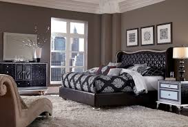 Aico Furniture Outlet Aico Hollywood Swank Starry Night Upholstered Bedroom Set