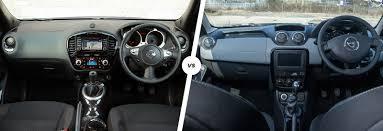 renault sandero interior 2017 nissan juke vs dacia duster u2013 budget suv battle carwow