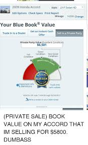 honda accord trade in value 2009 honda accord style lx p sedan 4d edit options check specs