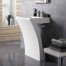 designer bathroom sinks the hudson reed seven pedestal sink is sure to add designer style