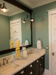 Teal Bathroom Decor by Teal Bathroom With Marble Topped Dark Wood Vanity This Elegant