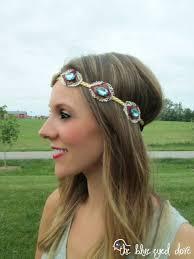 bohemian headbands the blue eyed dove diy boho chic headband the blue eyed dove