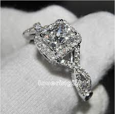 white engagement rings images White topaz engagement rings jpg