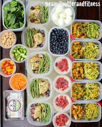 cuisine fitness meal prep monday week of january 18th peanut butter and fitness