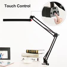 a16s 7w metal led swing arm desk lamp dimmable flexible arm lamp