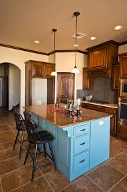 blue kitchen cabinets brown granite beacon stained cabinets giallo ornamental tropic brown