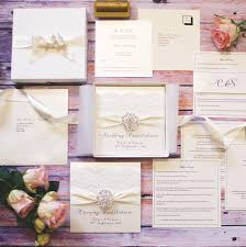 vintage lace wedding invitations opulence vintage lace luxury wedding invitation by made