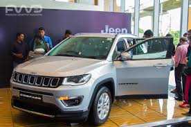 jeep india compass pre bookings for jeep u0027s u0027compass u0027 opens in kochi by fca india
