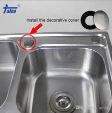 Kitchen Sink Decorative Covers Xiancai Basins Accessories - Kitchen sink hole cover
