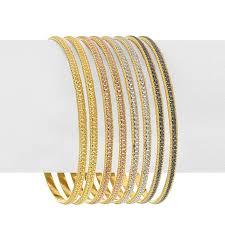 multi tone gold bracelet images 22k multi tones gold bangles raj jewels jpg