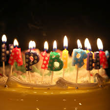 cool birthday candles letters happy birthday birthday candle kid s gift craft